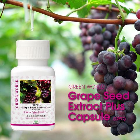 Green World Grape Seed Extract Plus Capsule (OPC)